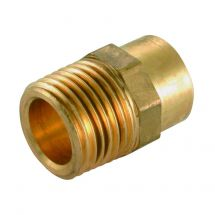 Solder Ring Male Iron Coupler 22mm x 3/4""