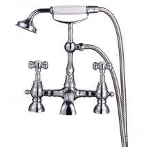 Georgian Bath Shower Mixer & Kit