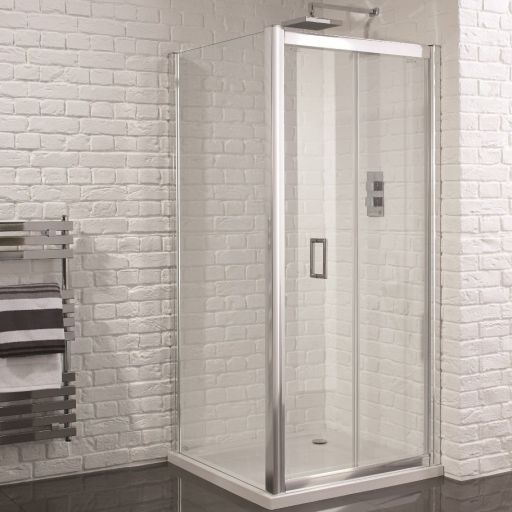 Aquadart Venturi 6 900mm X Frameless Bifold Door Shower