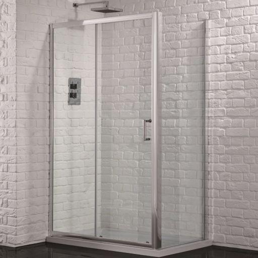 Aquadart Venturi 6 1600mm X 900mm Single Sliding Door Shower